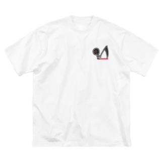 xxxx Big silhouette T-shirts