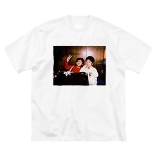 エモいフォトシリーズ Big silhouette T-shirts