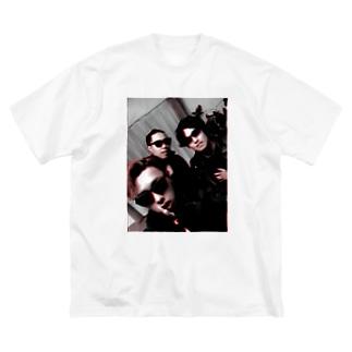 斉藤兄弟フォトシリーズ Big silhouette T-shirts