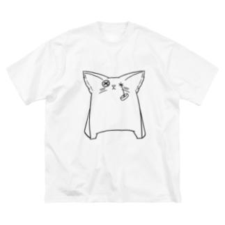 家内攻 サブキャラグッズ シンプルver Big silhouette T-shirts