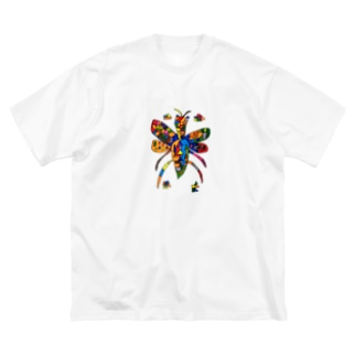Kotonohaの蜂(kei) Big silhouette T-shirts