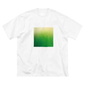 CREAM_SODA Big silhouette T-shirts