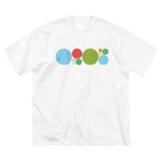 キナバル_ OPEN記念 数量限定Tシャツ Big silhouette T-shirts