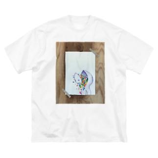 1+a (しこうくん) 実T Big silhouette T-shirts