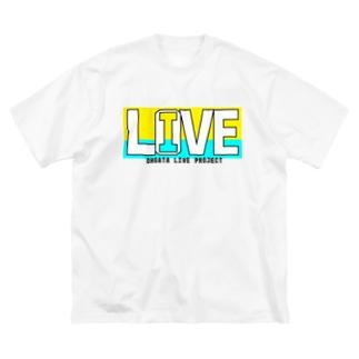 I LOVE LIVE ~ミニオンカラー~ Big silhouette T-shirts