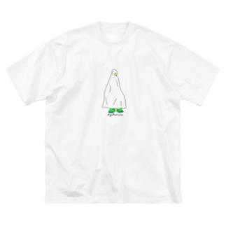 #yokorin STOREのう Big silhouette T-shirts