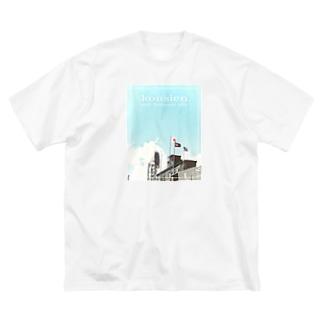 球児の夢 Big silhouette T-shirts