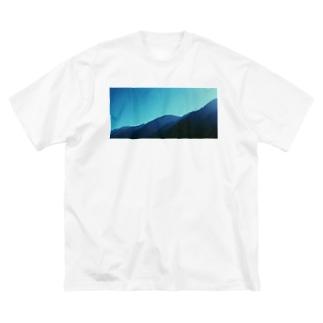 山岳T Big silhouette T-shirts