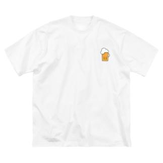 ビアー Big silhouette T-shirts