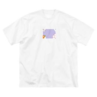 隠岐の昔の遊び Big silhouette T-shirts