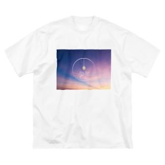 あの日の空にさようなら  Big silhouette T-shirts