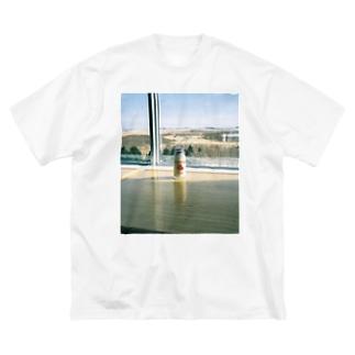 きりたっぷ Big silhouette T-shirts