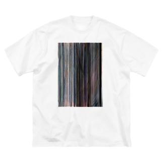 雨 Big silhouette T-shirts