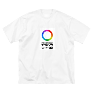 ネオトーキョー Big silhouette T-shirts