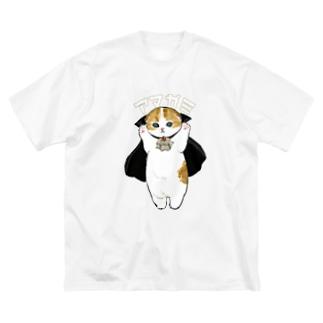 ドラキュラにゃん Big silhouette T-shirts