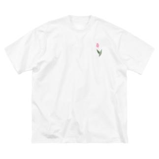 甘のちゅーかっぷ Big silhouette T-shirts