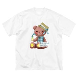 THTHSHOPの初恋の味はレモネード Big silhouette T-shirts