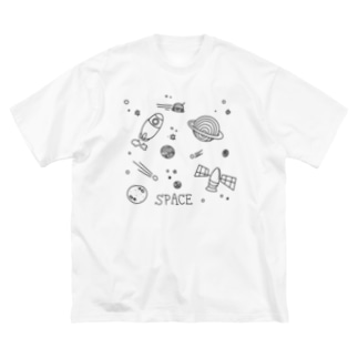 space BIGシルエットTシャツ Big silhouette T-shirts