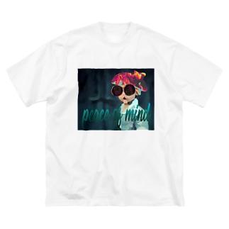 平常心ボーイ Big silhouette T-shirts