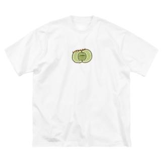 リトープス Big silhouette T-shirts