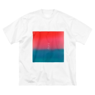 L■VE Big silhouette T-shirts