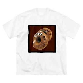 ○○ marumaruのどきどきどーなっつ Big silhouette T-shirts