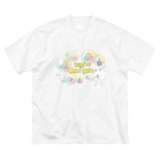 うさぎのバニ吾郎 フェアリーバブル Big silhouette T-shirts