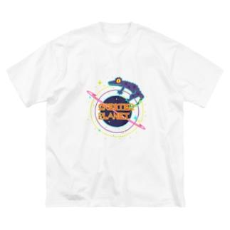 CrestedPlanet Big silhouette T-shirts