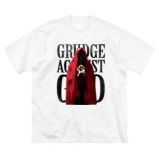 祈る赤い聖女 Big silhouette T-shirts