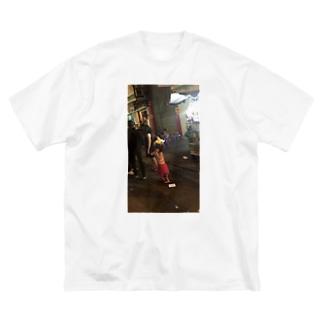 ホーチミン Big silhouette T-shirts