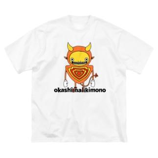 やじるしくん Big silhouette T-shirts