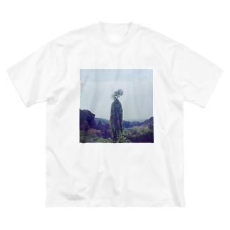 いつか見た巨人 Big silhouette T-shirts