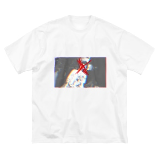 Glück No.7 Big silhouette T-shirts