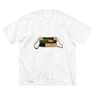 11月までマスク Big silhouette T-shirts