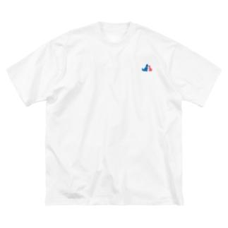 【新作】ロゴ付きビッグシルエットシャツ Big silhouette T-shirts