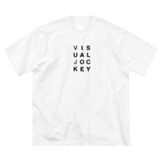 Visual Jockey Big silhouette T-shirts
