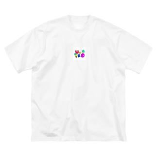 honeyのハッピー Big silhouette T-shirts