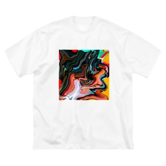 コレ何に見えますか?  Big silhouette T-shirts