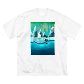 The arctic Big silhouette T-shirts