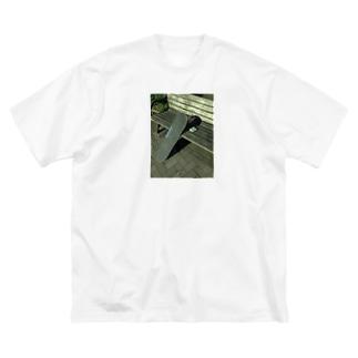 と金のToko_shi02 Big silhouette T-shirts