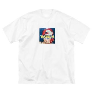 subaru315のFranklin Big silhouette T-shirts