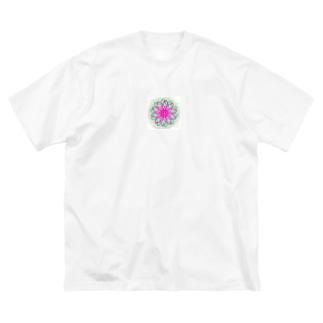 惑星もどき Big silhouette T-shirts