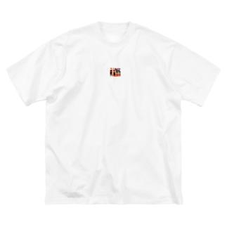 アメノウズメ姐さん Big silhouette T-shirts