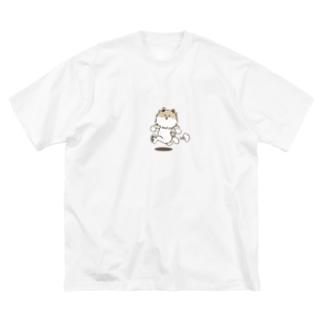 ゴーゴー! ポメ! 【NSpet BigT】 Big silhouette T-shirts