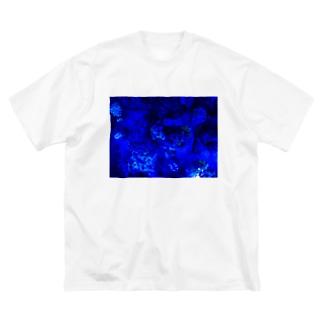 水槽 Big silhouette T-shirts