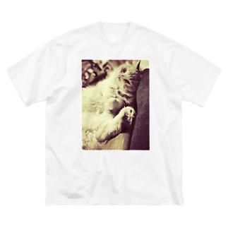 せぴありん Big silhouette T-shirts