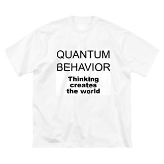 QUANTUM BEHAVIOR Big silhouette T-shirts