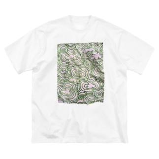 memo 緑空 実T Big silhouette T-shirts