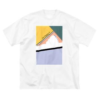 クラウド2 Big silhouette T-shirts