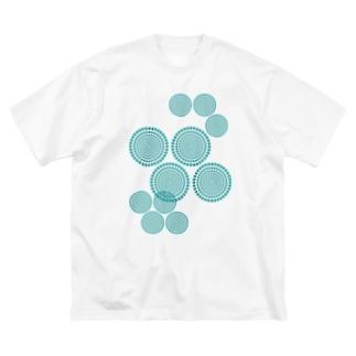 KAERUCAFE SHOPの錯視 Big silhouette T-shirts